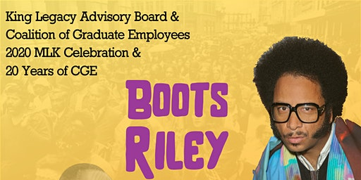 Boots Riley Celebration of MLK Jr & CGE 20th Anniversary