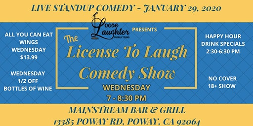 The License To Laugh Comedy Show