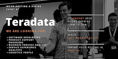Teradata  TJ Tech Hiring Event  New Year, New Job  tickets