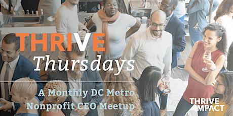 February Thrive Thursday –DC Metro Nonprofit CEO Meetup tickets