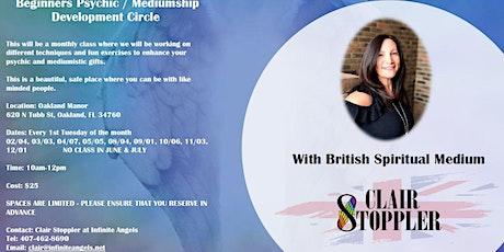 Psychic Mediumship Development Circle tickets