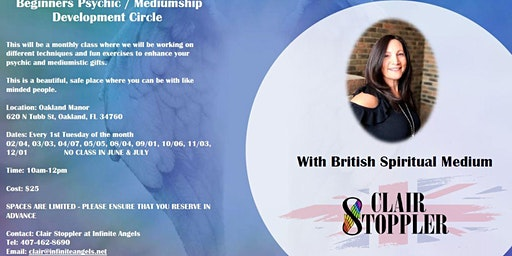Psychic Mediumship Development Circle