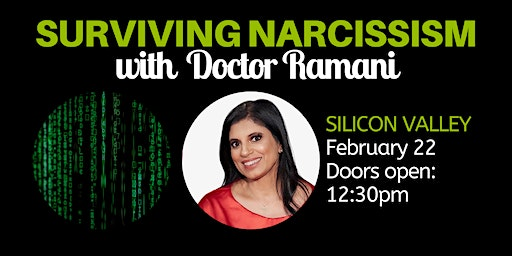 Surviving Narcissism Live: A Q&A with Dr. Ramani Durvasula (Bay Area)