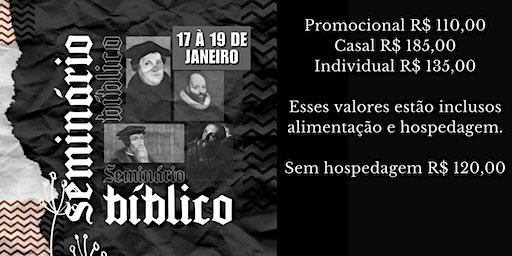 SEMINÁRIO BÍBLICO - IRIS FORTALEZA