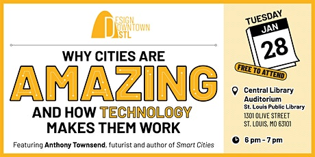 Why Cities Are Amazing And How Technology Makes Them Work tickets