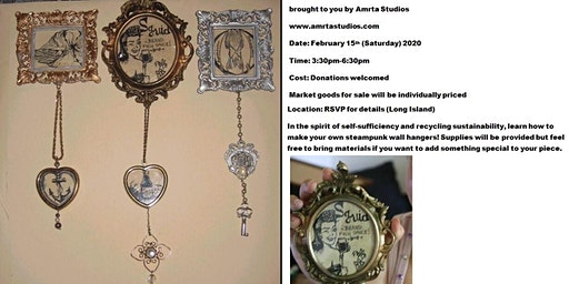 DIY SteamPunk Wall Hangers (And Craft Market)