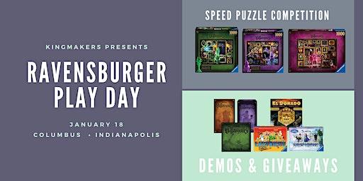 Kingmakers presents Ravensburger Play Day (INDIANAPOLIS)
