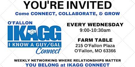 O'Fallon IKAGG CONNECT Weekly Meeting tickets