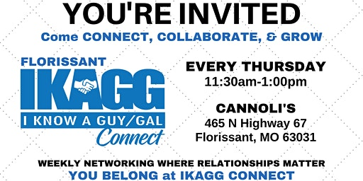 Florissant IKAGG CONNECT Weekly Meeting