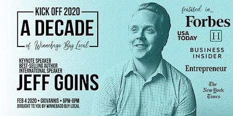 Winnebago Buy Local 2020 Local Business Kick-Off | Keynote Jeff Goins tickets