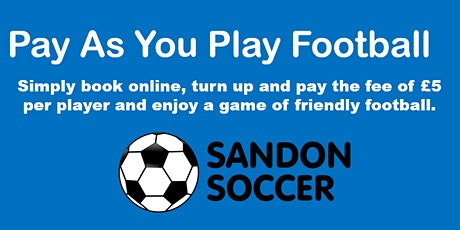 Pay as you play football tickets