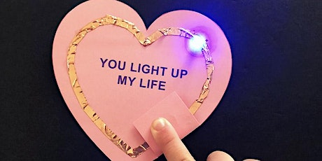 Light Up Valentine Art (ages 8-12) (preregistration) tickets
