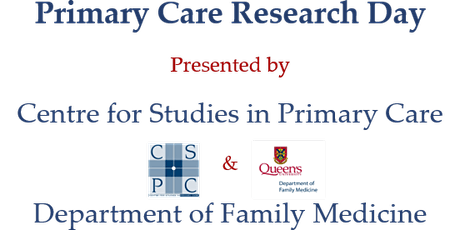 Primary Care Research Day 2020 tickets