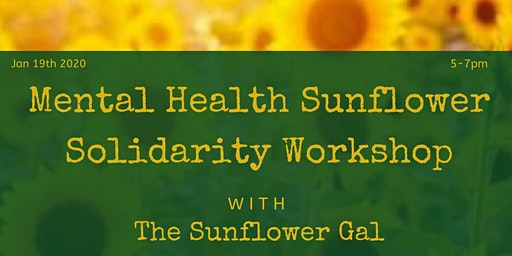 Mental Health Sunflower Solidarity Workshop