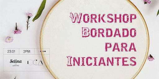 Workshop Bordado Para Iniciantes