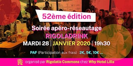 Rigoladrink N°52- janvier 2020  (Réseautage) billets