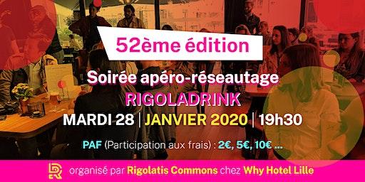 Rigoladrink N°52- janvier 2020  (Réseautage)