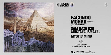 Facundo Mohrr (All Day I Dream, Argentina) < day party >  at Love Child Social House tickets