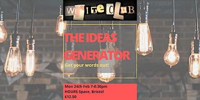 WriteClub: The Ideas Generator