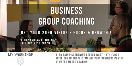 Business Group Coaching tickets