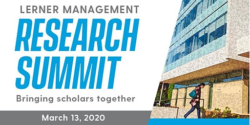 Lerner Management Research Summit 2020