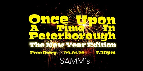 Once Upon A Time In Peterborough: The New Year Edition tickets