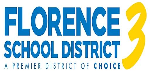Florence District Three Teacher Recruitment Fair 2020