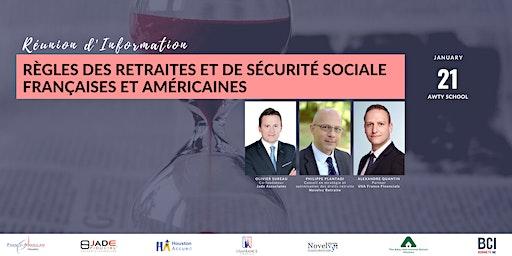 Règles des retraites et de sécurité sociale françaises et américaines