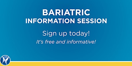 Bariatric Information Session tickets
