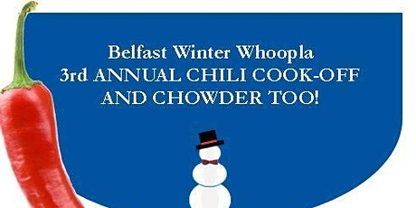 3rd Annual Chili Cook-off and Chowder too! tickets