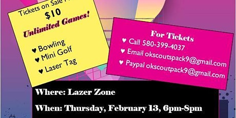 Valentine Party - Unlimited Games for $10! tickets