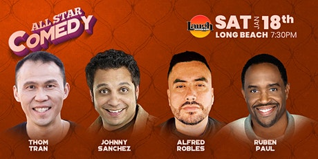 Johnny Sanchez, Ruben Paul, and more - All-Star Comedy tickets