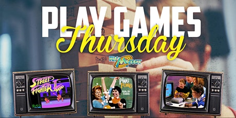 Play Games - Game Night at The 27 Club billets