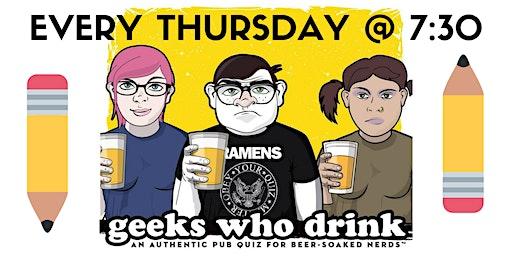 Geeks Who Drink Pub Trivia (INDIANAPOLIS)