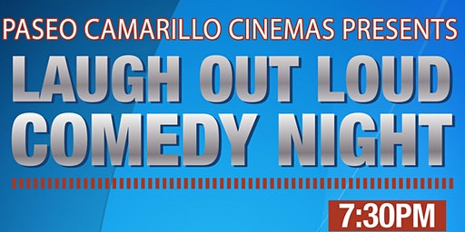 Camarillo Paseo Regency Live Comedy -- Wed, April 15