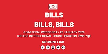 Bills, Bills, Bills | MoneyJar Meetup #006 tickets