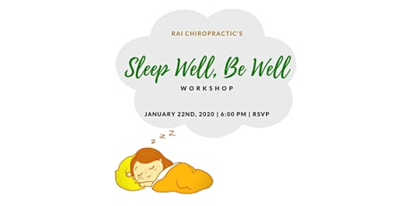 Sleep Well, Be Well Workshop tickets