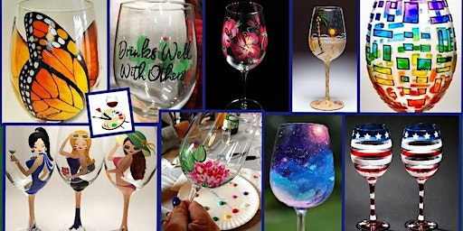 Lucky Leap Day Wine Glass Painting!