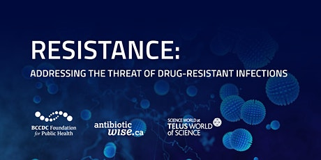 Addressing the threat of drug-resistant infections: Screening plus Q&A tickets