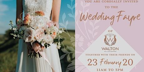 Walton Hall Wedding Fayre tickets