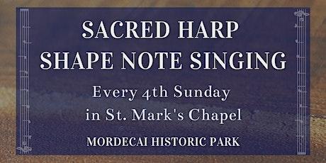 Sacred Harp Shape Note Singing tickets