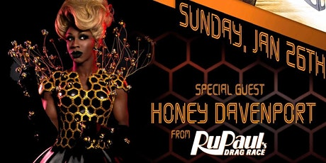 RPDR Honey Davenport at Oilcan Harry's billets
