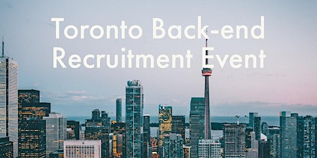 HiredEvents - Toronto Back-end Developer Recruitment (Feb 4th) tickets