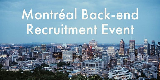 HiredEvents - Montreal Back-end Developer Recruitment (Feb 12)