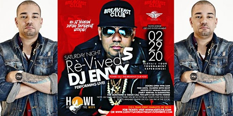 DJ ENVY 5th Annual The Best Saturday Night Ci Tourney @Howl at the Moon tickets