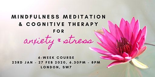 Mindfulness Meditation & Cognitive Therapy for Anxiety & Stress