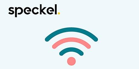 Speckel -  Intro Webinar tickets