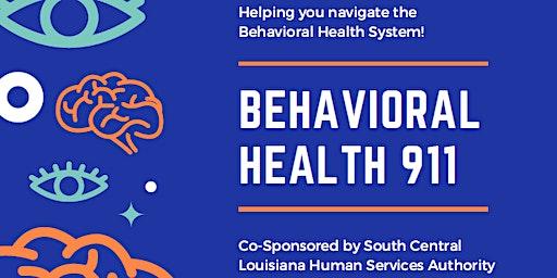 Behavioral Health 911