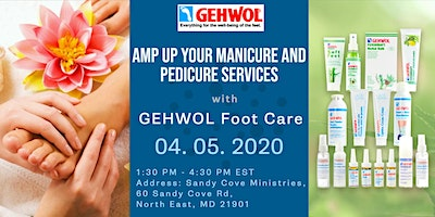 AMP UP Your Med Pedicure and Manicure Service with GEHWOL Foot Care – Nail Camp East – Maryland