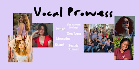 """""""Vocal Prowess"""" Concert: A Night of Sung Stories tickets"""